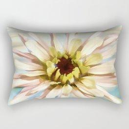 Pastel Zinnia Rectangular Pillow