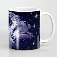 astronaut Mugs featuring ASTRONAUT. by capricorn