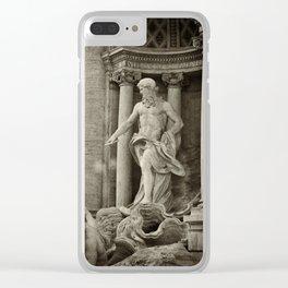 Fontana di Trevi (Italy) Clear iPhone Case
