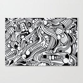 Doodles 01 Canvas Print