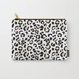 Leopard Animal Print Watercolour Painting Carry-All Pouch