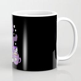 Feline Familiar 02 // Black Coffee Mug