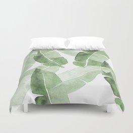 Tropical Leaves 2 Duvet Cover