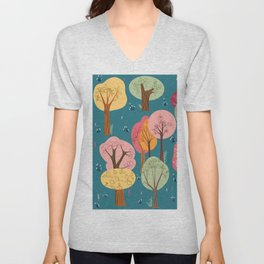 Fairytale forest Unisex V-Neck