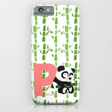 p for panda iPhone 6s Slim Case
