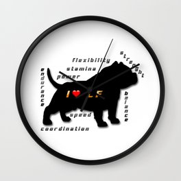 I love CF Wall Clock