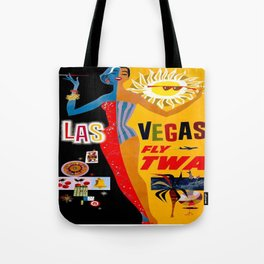 Vintage poster - Las Vegas Tote Bag