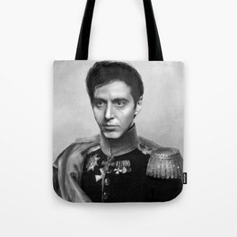 Al Pacino Scar Face General Portrait Painting | Fan Art Tote Bag