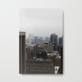 City Buildings Chicago Original Color Photo Metal Print