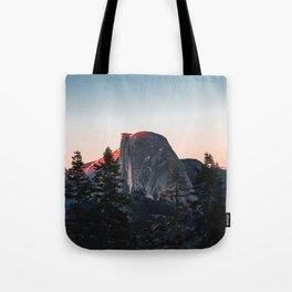 Last Light at Yosemite National Park Tote Bag