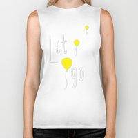 let it go Biker Tanks featuring Let Go by Mathis Designs