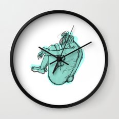 Hunch Wall Clock