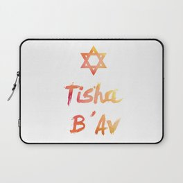 Tisha B'Av - found the way to survive Laptop Sleeve