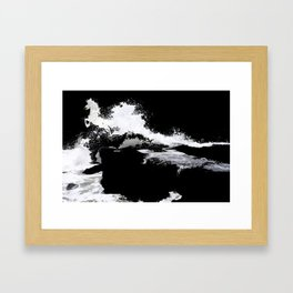 We all come from the sea Framed Art Print