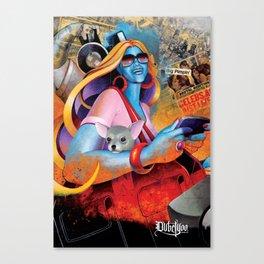 Imaginary Friends Part 1 Canvas Print
