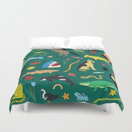 Lawn Party Duvet Cover