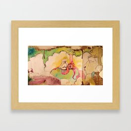 A PLACE IN HEAVEN Framed Art Print