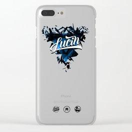 Lucin Clear iPhone Case