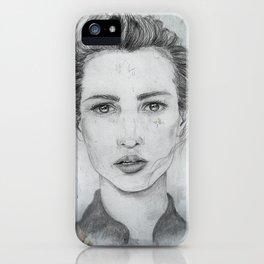 Alicia iPhone Case