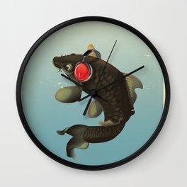 Audio Koi Wall Clock