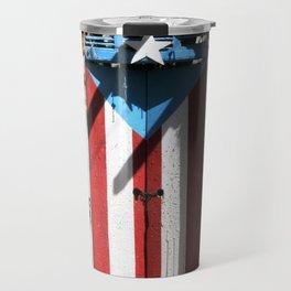 Puerto Rico Flag  ,boricua pride Travel Mug