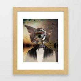 Mr. Insomnia Framed Art Print