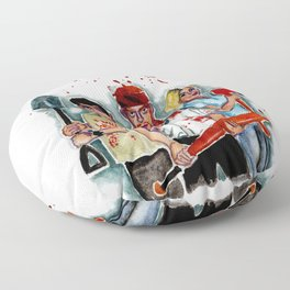 Shaun of the dead Floor Pillow