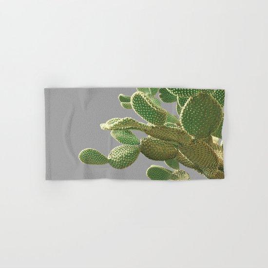 Minimal Cactus Hand & Bath Towel