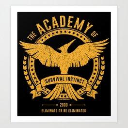 Academy of Survival Art Print