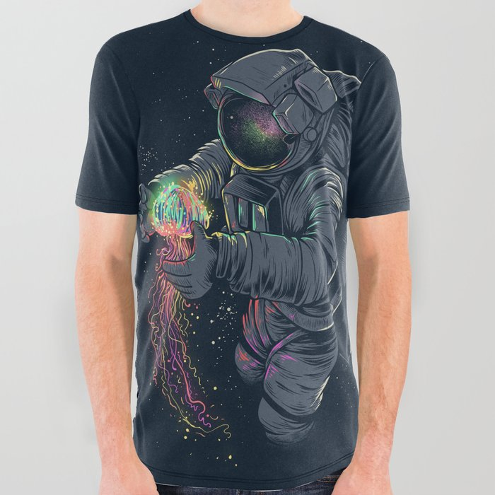 Jellyspace All Over Graphic Tee