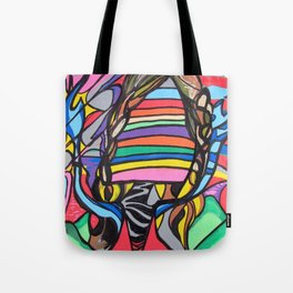 Crazy lil creature Tote Bag