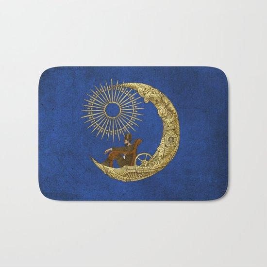 Moon Travel (Colour Option) Bath Mat