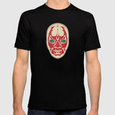 The Mysterious Mask Mens Fitted Tee MEDIUM Black