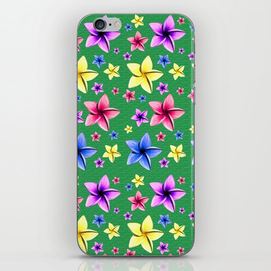 Flower Crazy iPhone & iPod Skin