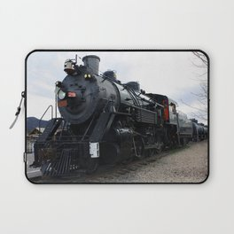 Vintage Railroad Steam Train Laptop Sleeve