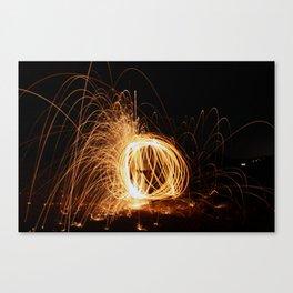 Sphere of Light Canvas Print