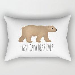 Best Papa Bear Ever Rectangular Pillow