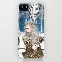 The god of light iPhone Case
