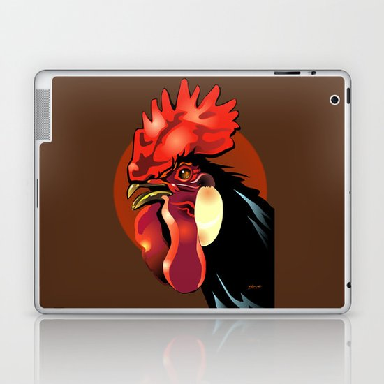 Andalusian Rooster 1 Laptop & iPad Skin