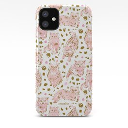 FRED the Kitty Pink Gold Chic Persian Cat iPhone Case