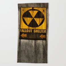 Fallout Shelter Beach Towel