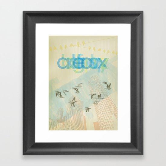 eox Framed Art Print