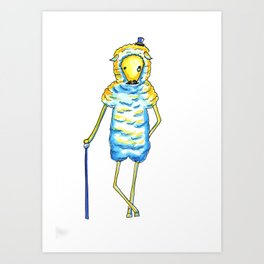 Mr. Highclass Art Print