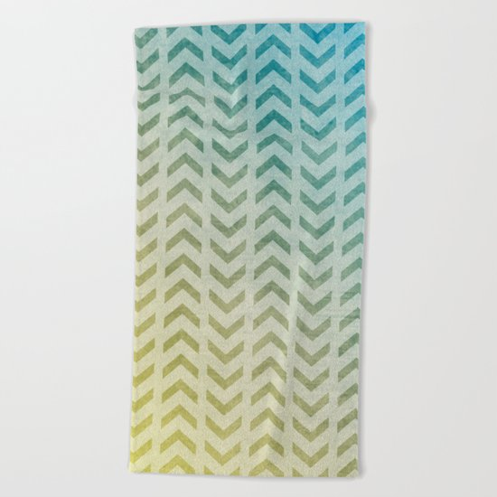 Aztec Pattern 05 Beach Towel