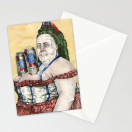 PBR WENCH Stationery Cards
