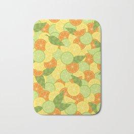 Citrus Carnival Bath Mat