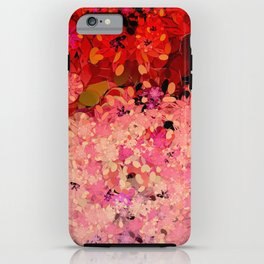 Two Different Worlds -- Floral Pattern iPhone Case