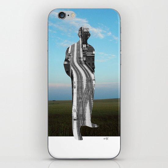 City Man´s Dream Collage iPhone & iPod Skin