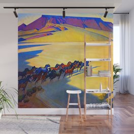 Maynard Dixon Wild Horses Wall Mural
