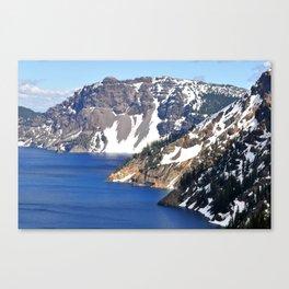 CRATER LAKE - 1 Canvas Print